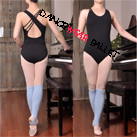 Adult Asymmetry Cross Strap Leotard
