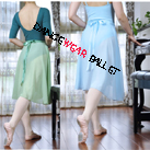 Dancewear Ballet Dress Chiffon Long Wrap Skirt