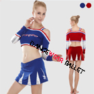 Dance Active & Fitness Cheering Suit Crop Top And Skirts