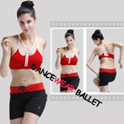Dance Active & Fitness Contrast Color Drawstring Shorts