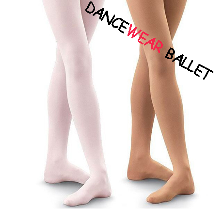 Ultra Soft Microfiber Footed Dancewear Ballet Tights