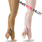 Convertible Dancewear Ballet Tights With Elastic Waistband