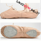 Pig Leather Split Sole Dancewear Ballet Shoes Ballet Slipper