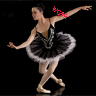 Professional Deep Neck Beads Performance Dance Ballet Tutu Costume