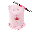 Dance Ballet Cute Bag With Lace And Ballerina Embroidery