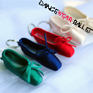 Five Colors Dance Ballet Point Shoes Key Ring
