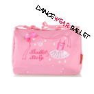 DB37001 Children Fancy Dance Ballet Bags With Ballet Dress Embroidery