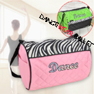 Dance Ballet Bags With Sequin Leopard Print