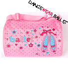 Dance Ballet Cute Bags With Fancy Print
