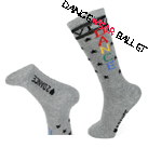 Dancewear Ballet Cotton Ankle Socks With Stars