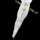 Professional Dance Men Performance Tights With Feet