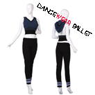 Adult Dancewear Ballet Knitwear Warm-up Suit Tank And Pant
