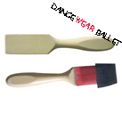Dance Ballet Accessory Shoe Wood Brush