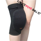 Top Strape Thick Knee Pad Protector With Back Hole