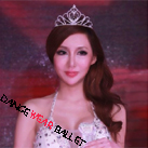 Extremely Height Ballet Hair Accessory Crystal Rhinestone Tiara With Comb