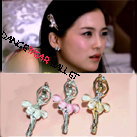 Ballet Hair Accessory Rhinestone Ballerina Pin
