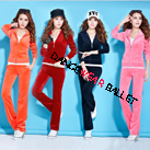 Eight Colors Velour Tracksuit Hoodie Sports Wear