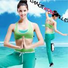 Contrast Color I-Shaped Bra Top Yoga Clothing