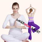 Modal Contrast Color Three Pieces Yoga Clothing Top Bra And Pants