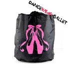 Dancewear Ballet Bag With Ballet Pointe Shoe Print