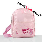 Dancewear Ballet Backpack With Ballet Pointe Shoe Embroidery