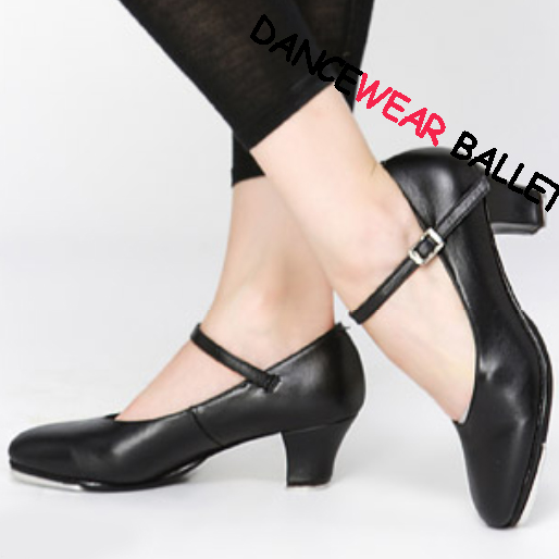 cow leather high heel tap shoes tap character shoes