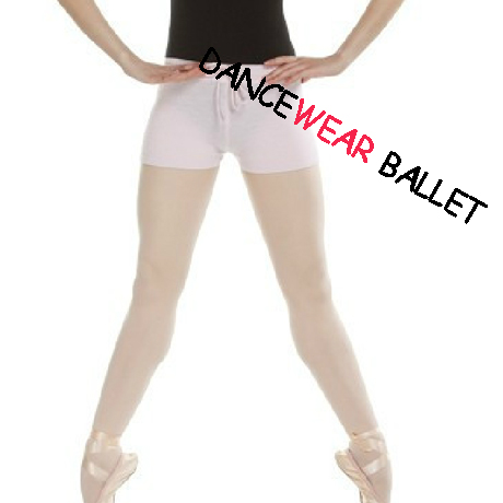 Dancewear Ballet Knitted Tight Warm Up Shorts With